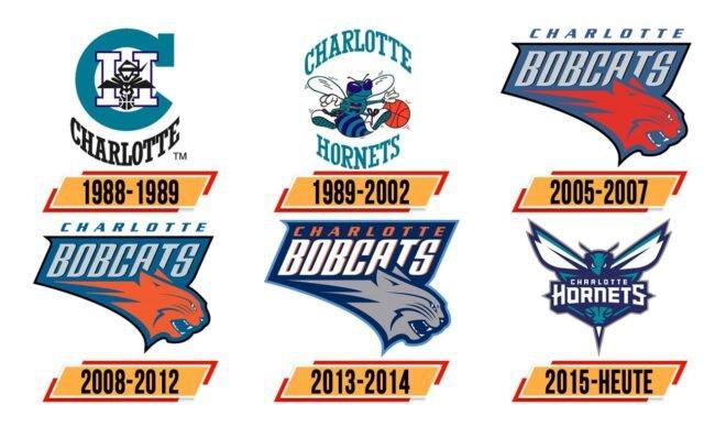 Charlotte Hornets Logo Geschichte