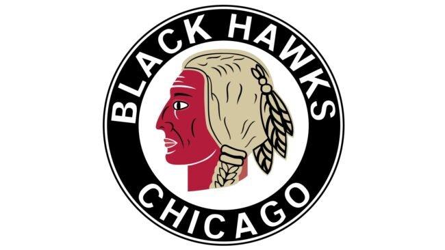 Chicago Blackhawks Logo 1937-1941