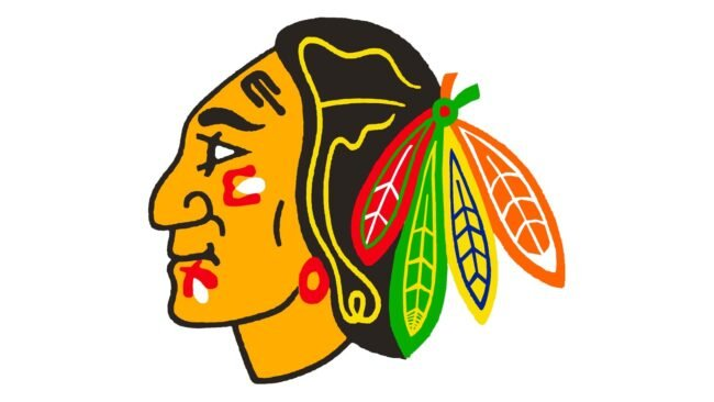 Chicago Blackhawks Logo 1965-1989