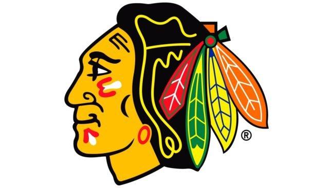 Chicago Blackhawks Logo 1989-1996