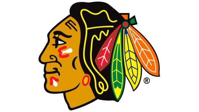 Chicago Blackhawks Logo 1999-Heute