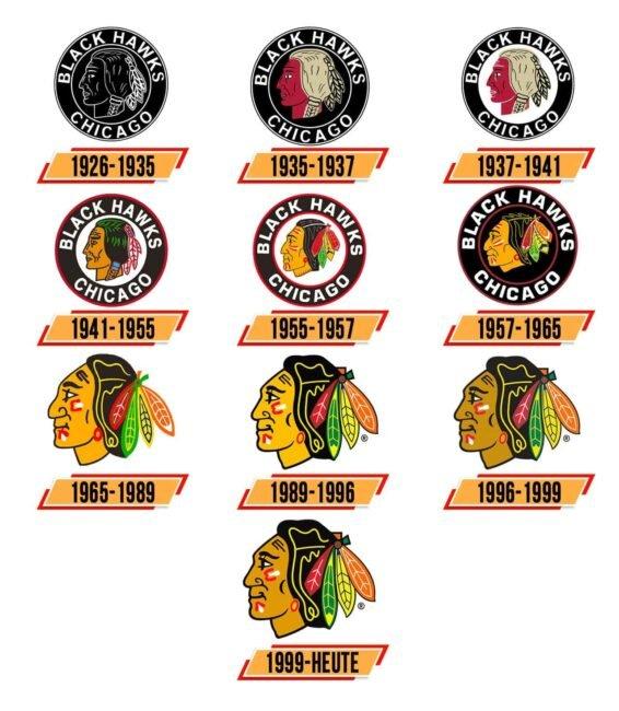 Chicago Blackhawks Logo Geschichte