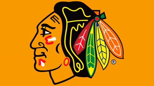 Chicago Blackhawks Zeichen