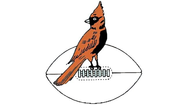 Chicago Cardinals Logo 1947-1959