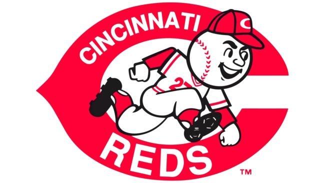 Cincinnati Reds Logo 1968-1992