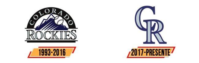 Colorado Rockies Logo Geschichte