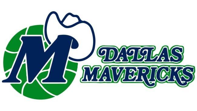 Dallas Mavericks Logo 1980-1993