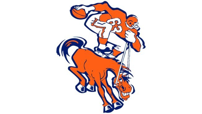 Denver Broncos Logo 1962-1969