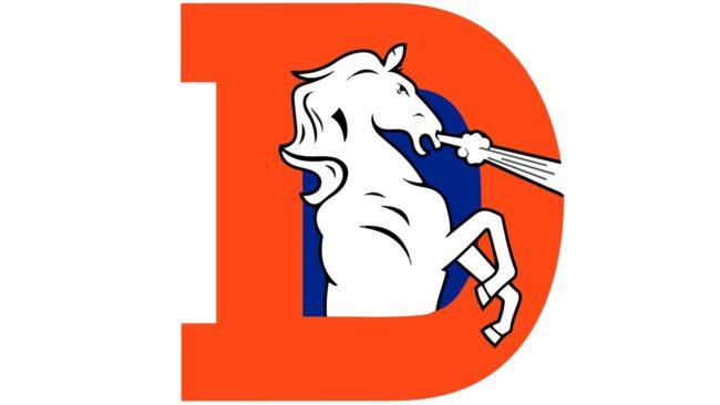 Denver Broncos Logo 1970-1992
