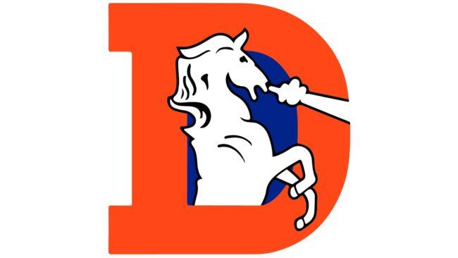 Denver Broncos Logo 1993-1996