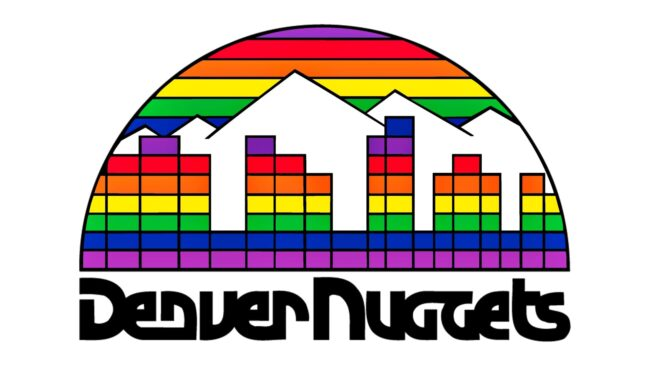 Denver Nuggets Logo 1982-1993