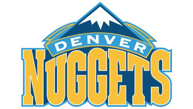 Denver Nuggets Logo 2004-2008