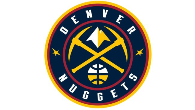 Denver Nuggets Logo 2019-Heute