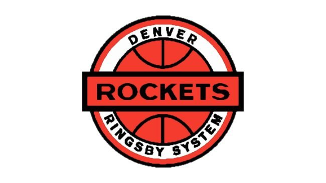 Denver Rockets Logo 1968-1971