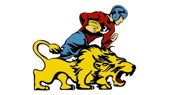 Detroit Lions Logo 1952-1960