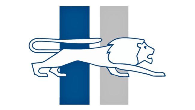 Detroit Lions Logo 1961-1969