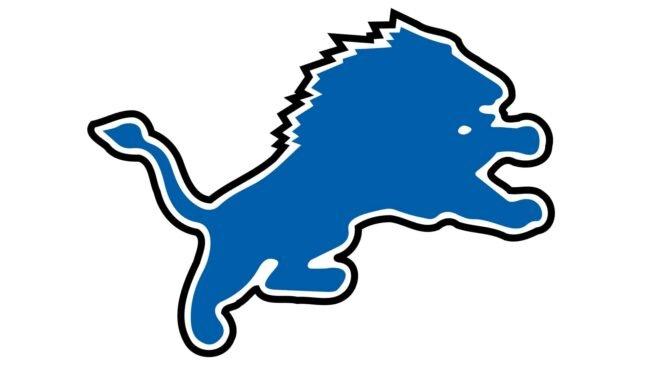 Detroit Lions Logo 2003-2008