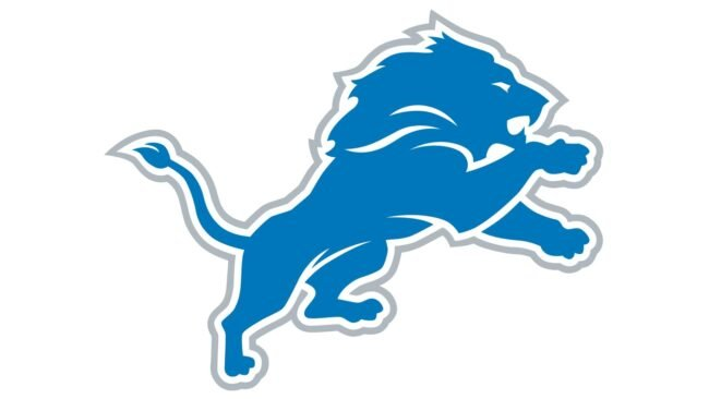 Detroit Lions Logo 2017-Heute