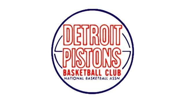 Detroit Pistons Logo 1957-1971