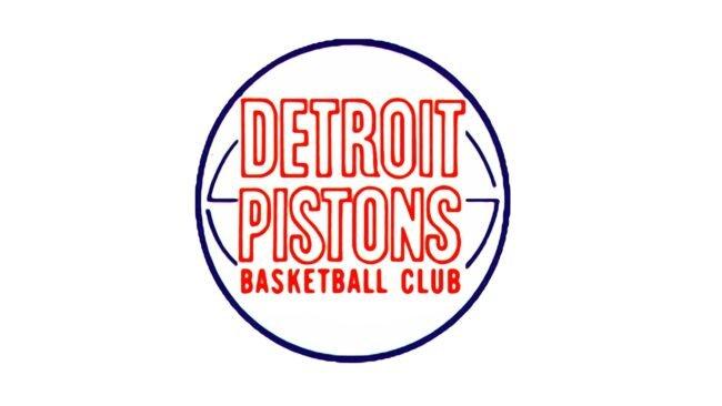 Detroit Pistons Logo 1971-1975