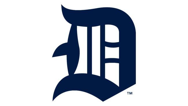 Detroit Tigers Logo 1914-1915