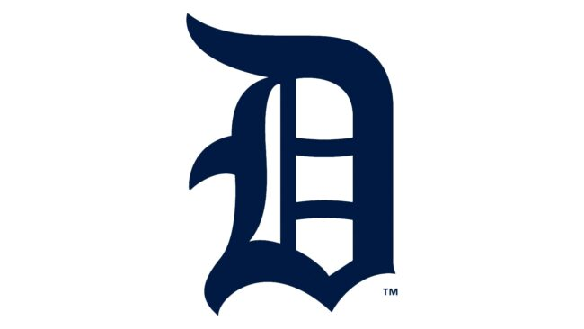 Detroit Tigers Logo 1917