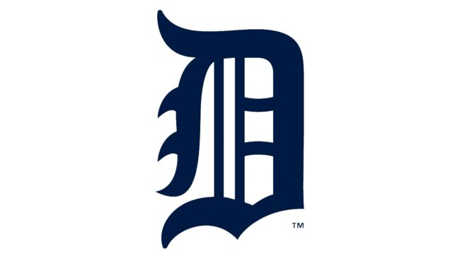 Detroit Tigers Logo 1921-1924