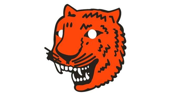 Detroit Tigers Logo 1927-1928