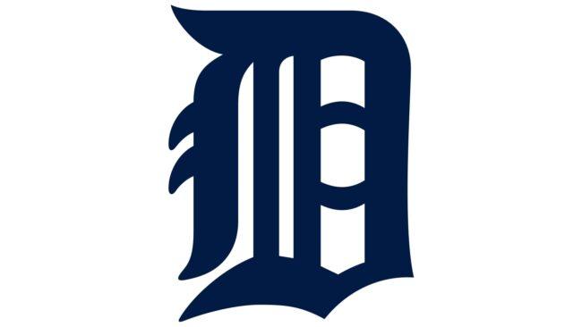 Detroit Tigers Logo 1934-1956