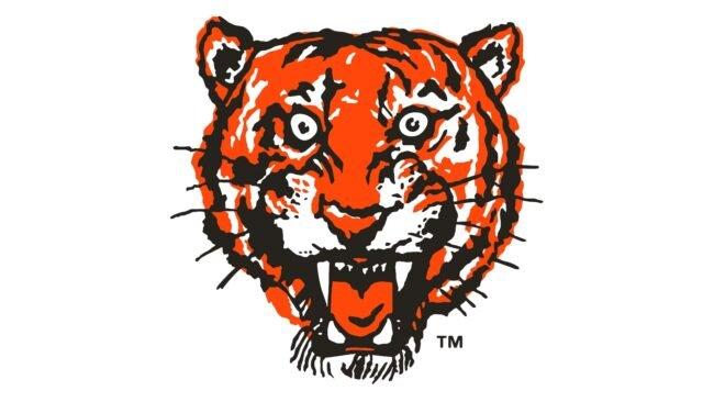 Detroit Tigers Logo 1957-1960