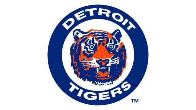 Detroit Tigers Logo 1964-1993