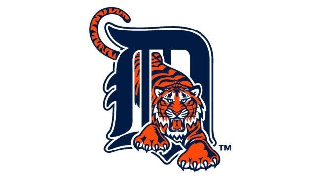 Detroit Tigers Logo 1994-2005