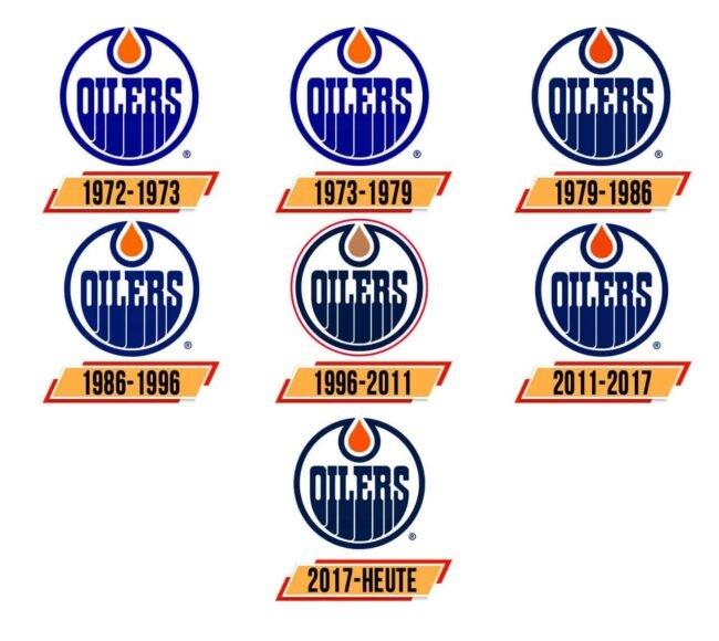 Edmonton Oilers Logo Geschichte