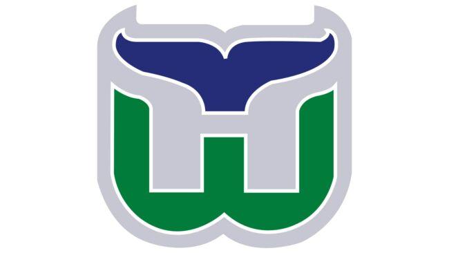 Hartford Whalers Logo 1993-1997
