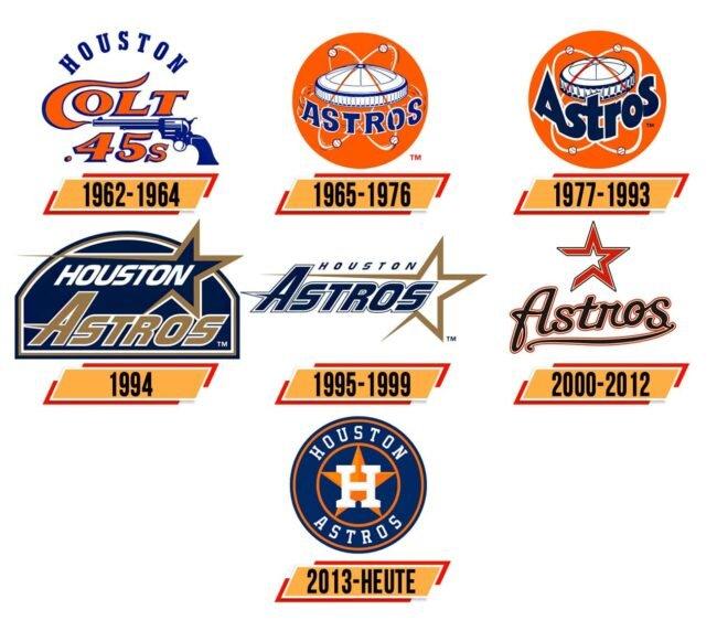 Houston Astros Logo Geschichte