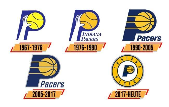 Indiana Pacers Logo Geschichte