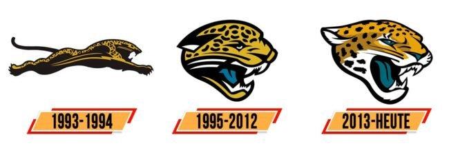 Jacksonville Jaguars Logo Geschichte