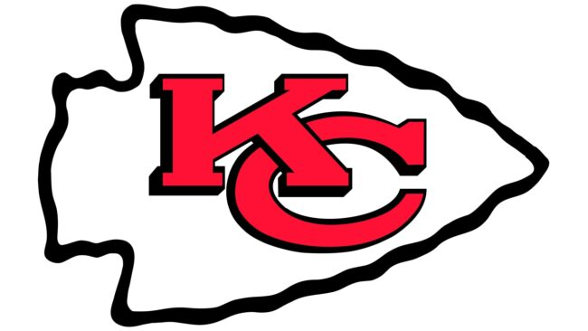 Kansas City Chiefs Logo 1972-Heute