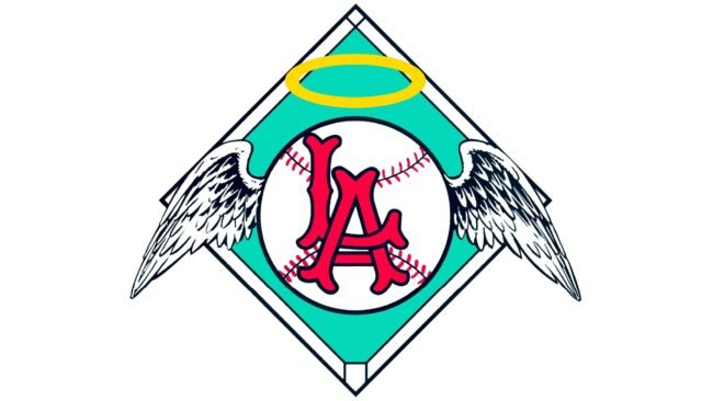 Los Angeles Angels Logo 1961-1964