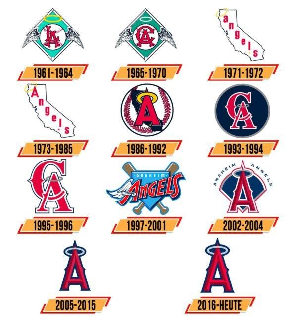 Los Angeles Angels Logo Geschichte