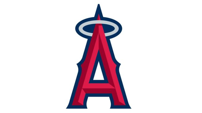 Los Angeles Angels of Anaheim Logo 2005-2015