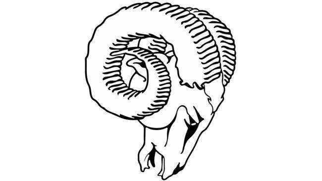 Los Angeles Rams Logo 1970-1982