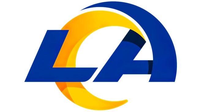 Los Angeles Rams Logo 2020-Heute