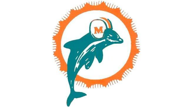Miami Dolphins Logo 1966-1973
