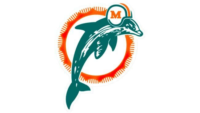 Miami Dolphins Logo 1989-1996