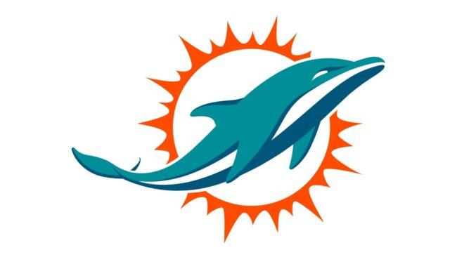 Miami Dolphins Logo 2018-Heute