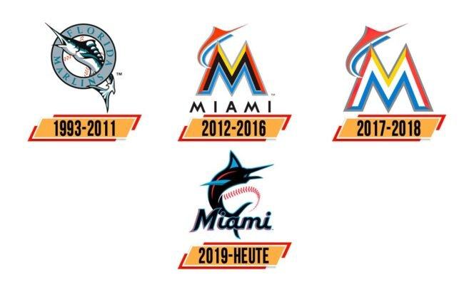 Miami Marlins Logo Geschichte