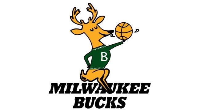 Milwaukee Bucks Logo 1968-1993