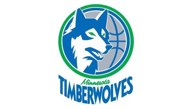 Minnesota Timberwolves Logo 1990-1996