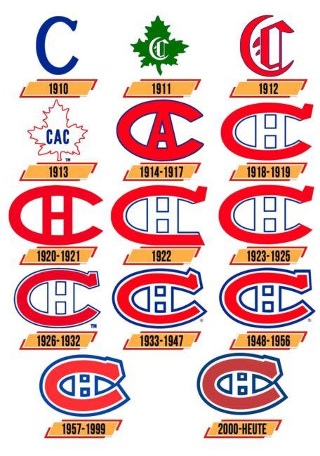 Montreal Canadiens Logo Geschichte